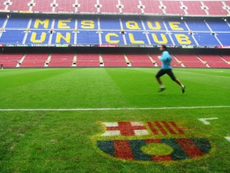 Nou Camp, estadio del futbol club Barcelona