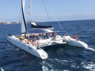 Catamarán Ocean Fly, Costa Dorada